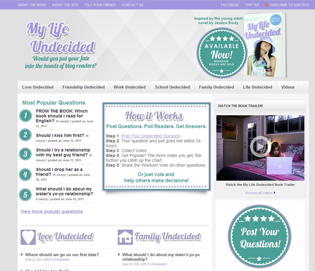 MyLifeUndecided.com